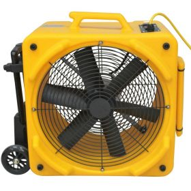 Zoom 1/4 HP Axial Ventilation Fan with Wheel Kit