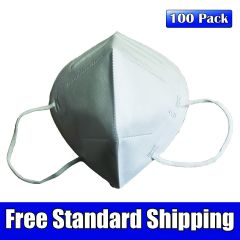 KN95 GB 2626-2006 Disposable Filtering Respirator Mask, 100 Pack High Efficiency